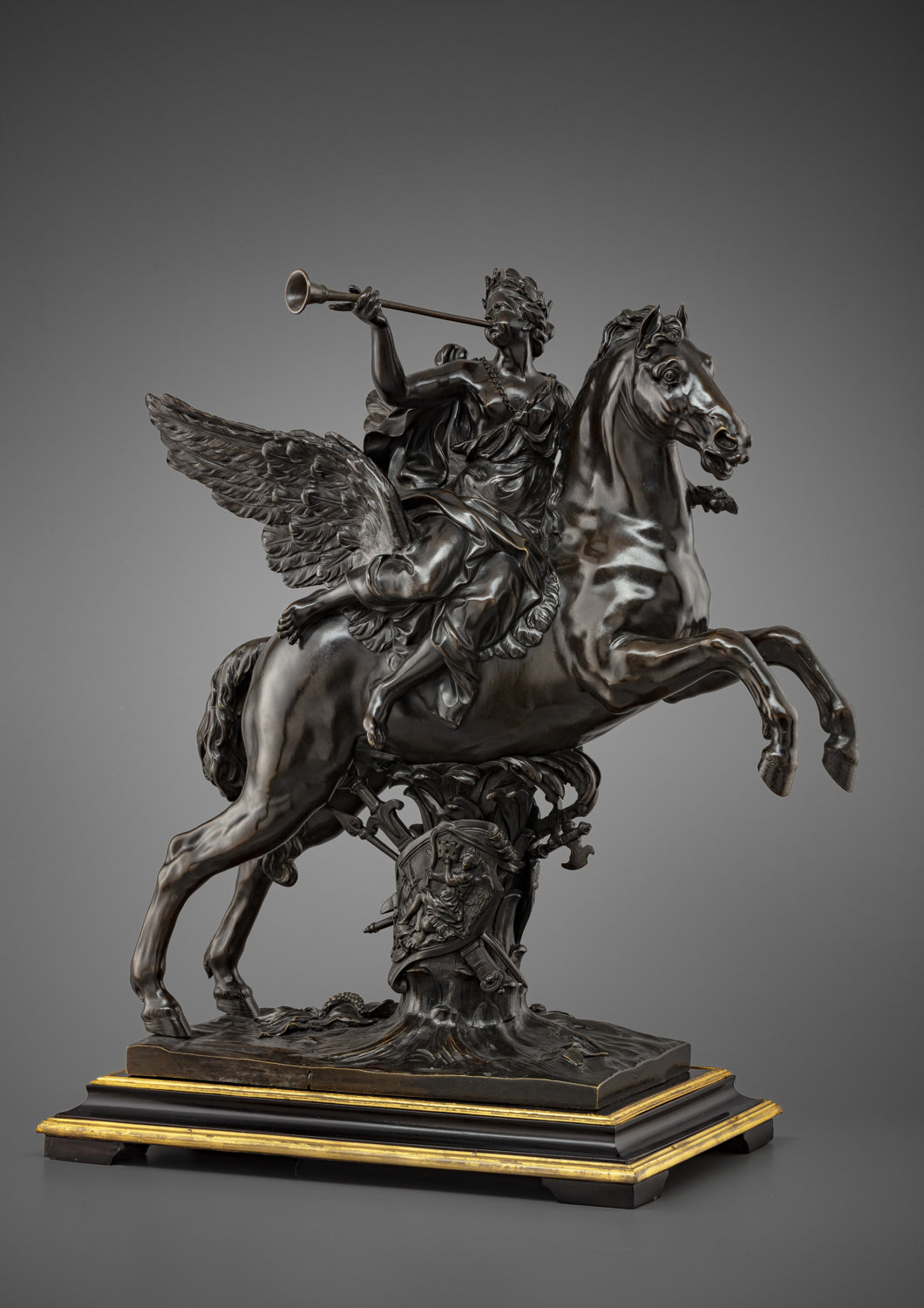 Two Louis XIV patinated bronze groups - Galerie Kugel