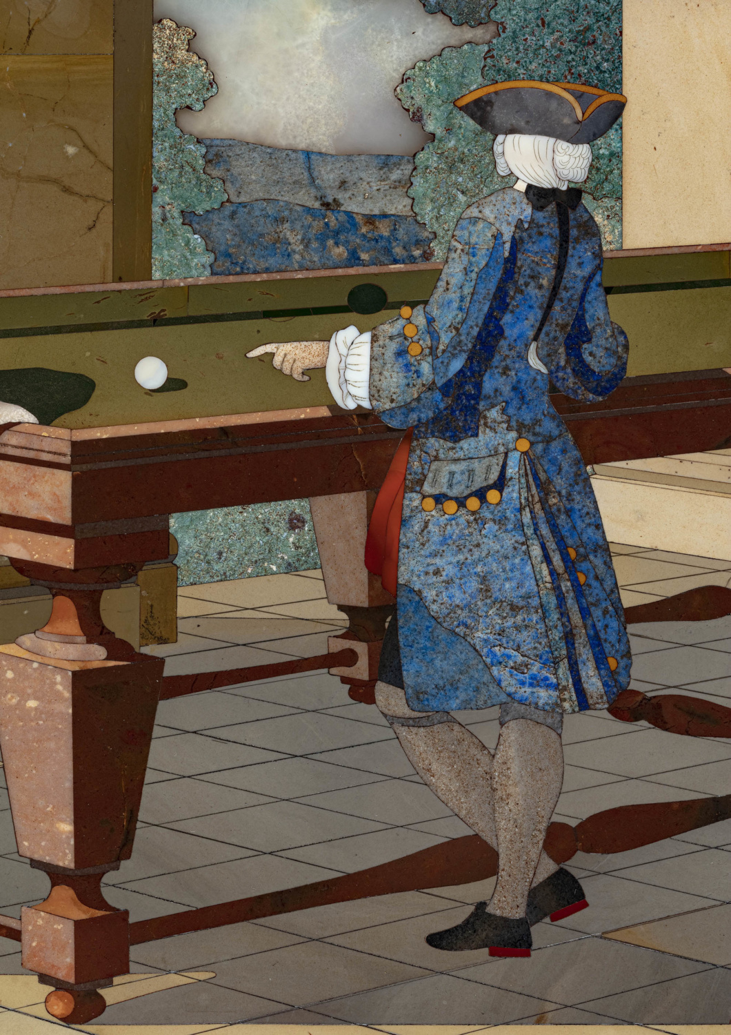 """The Game of billiards"" - Galerie Kugel"