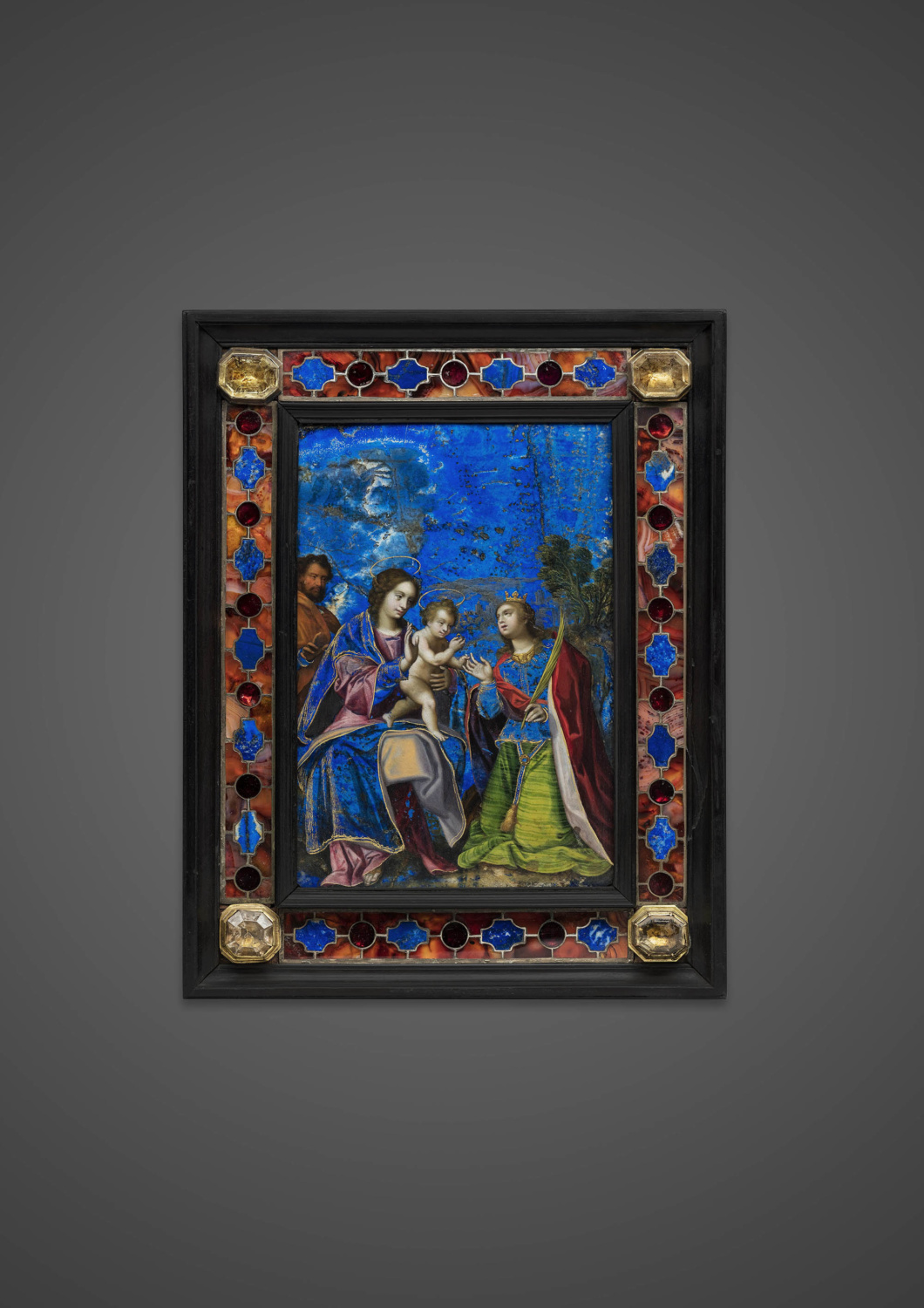 The Mystical Marriage of Saint Catherine - Galerie Kugel