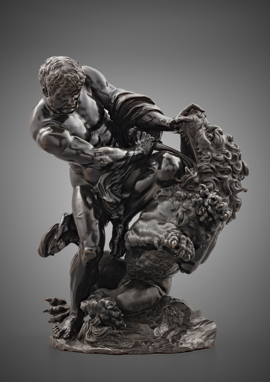 Samson and the lion - Galerie Kugel