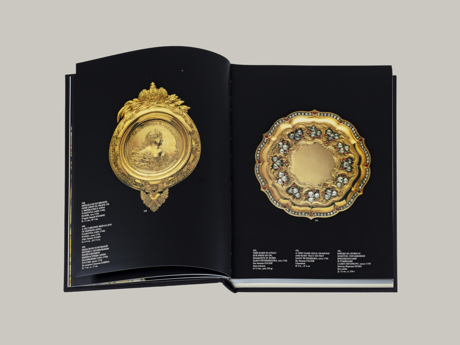 Treasures of the Czars, Russia & Europe from Peter the Great to Nicholas I - Galerie Kugel