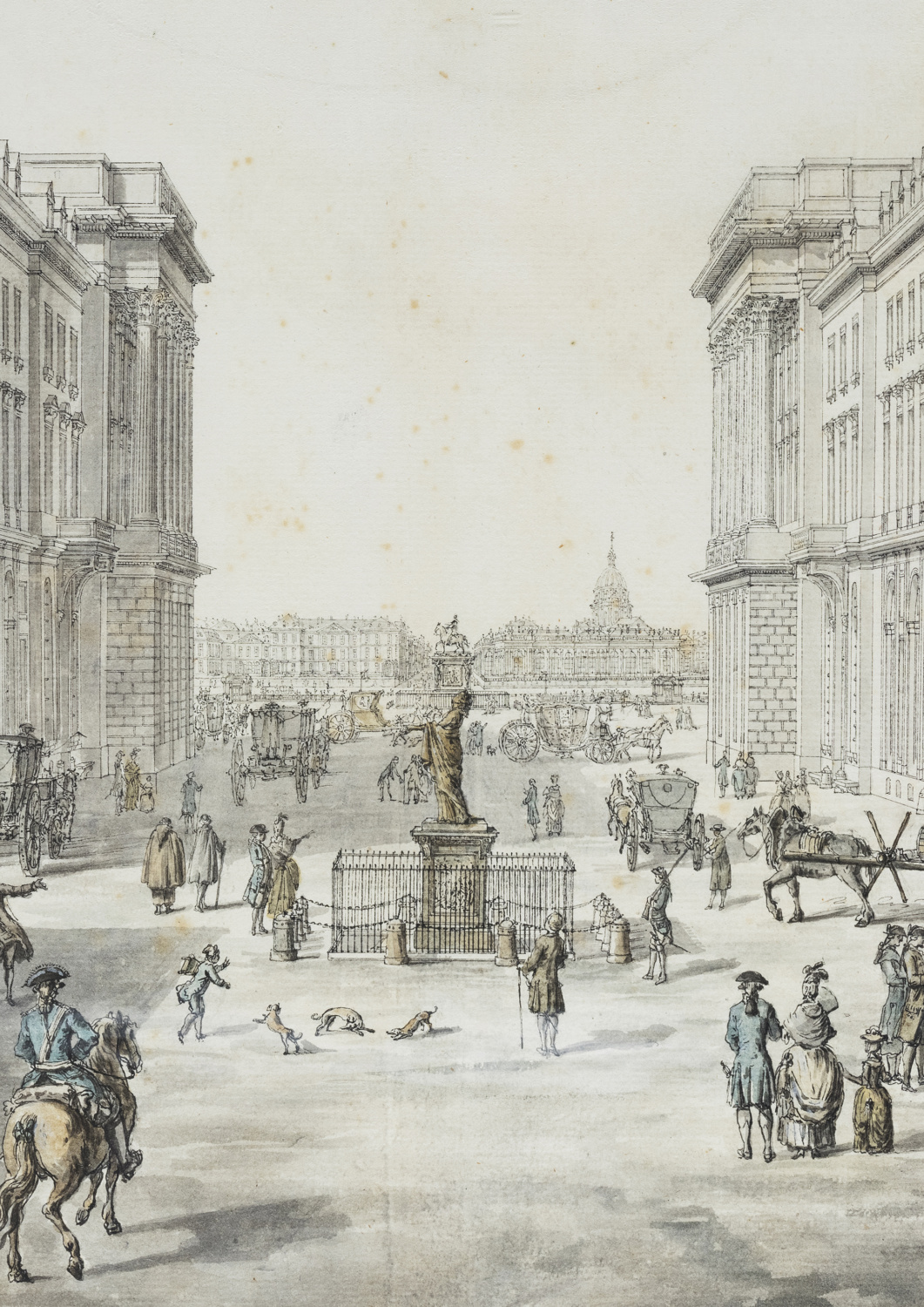 Architectural project for the rue Royale - Galerie Kugel